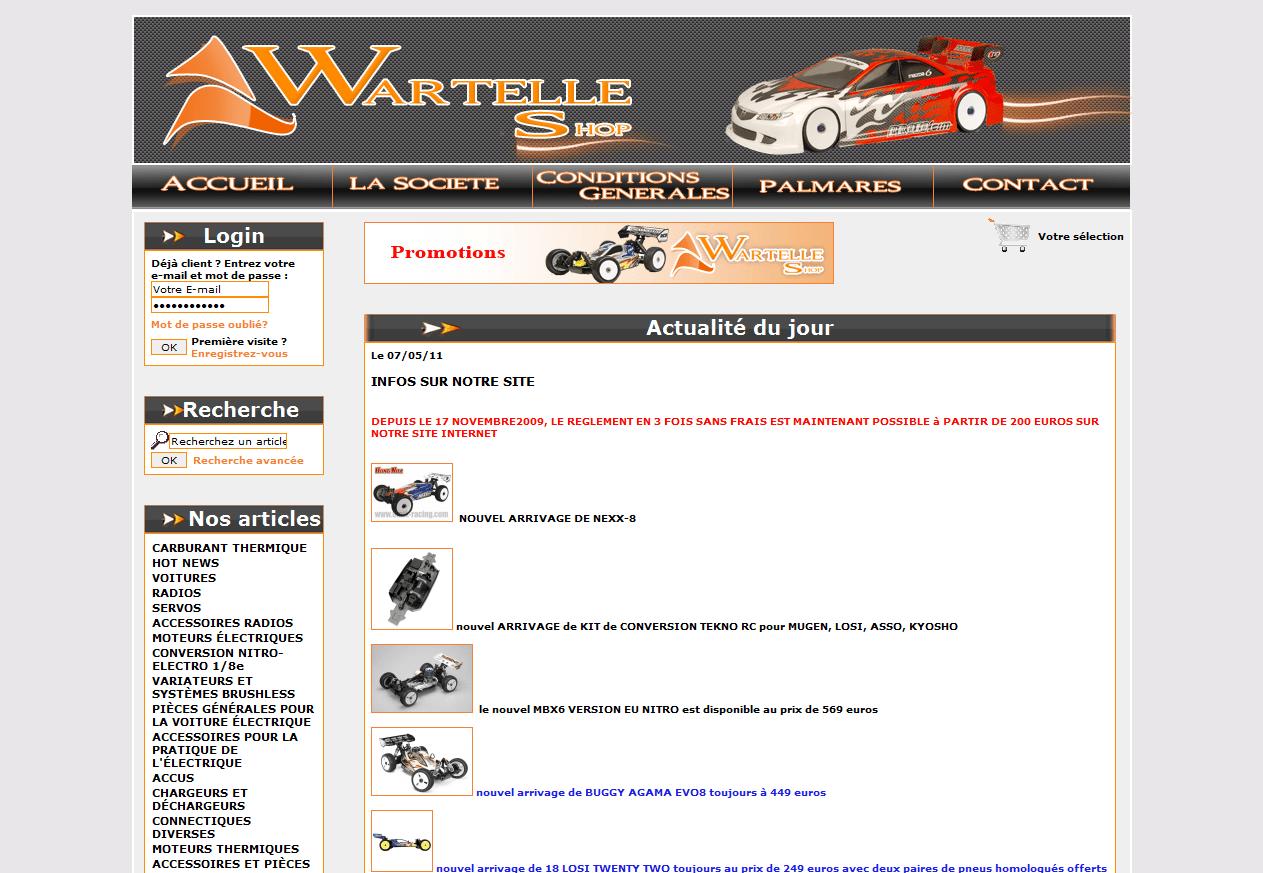 Boutique Wartelle-shop.com